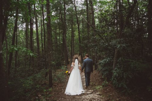 Red River Gorge wedding