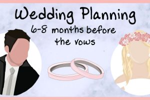 6 months wedding planning header