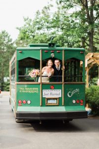 4 month wedding infographic transportation