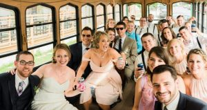 Mannequin Challenge bridal party photos