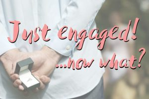 Just Engaged – Now What? | Infographic