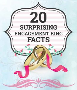 surprising engagement ring facts