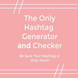 free hashtag generator checker