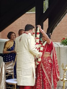 Traditional Wedding at The Roofless Church