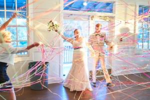 Colorful South Carolina Wedding
