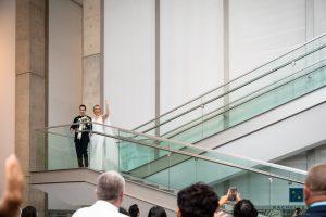Modern Grand Rapids Art Museum Wedding