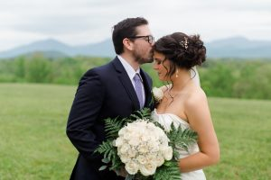 Wedding in Bedford, Virginia