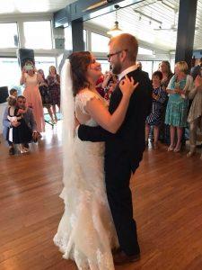 Intimate wedding in Cape Cod