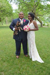 wedding in Niagara Falls, NY