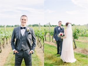 wedding at newport vineyards