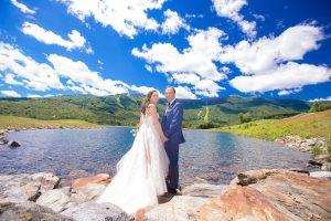 wedding at stowe mountain