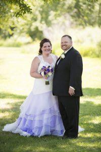 wedding in park county