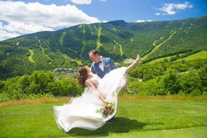 wedding at stowe mountain