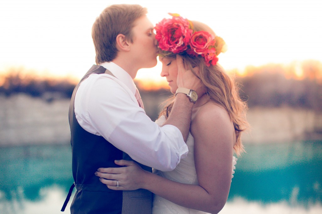 wedding floral headband