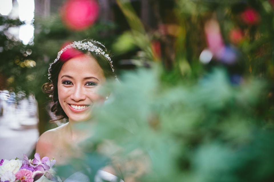 wedding photo inspiration plants