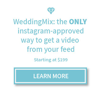 Instagram wedding video